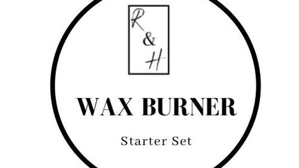 Wax Burner -  Starter Set