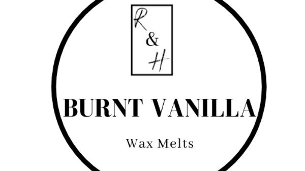 Burnt Vanilla Heart Wax Melt