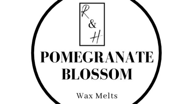 Pomegranate Blossom Heart Wax Melt