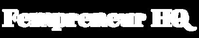 White Fempreneur HQ Logo