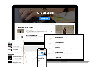 Stories that Sell Mockup