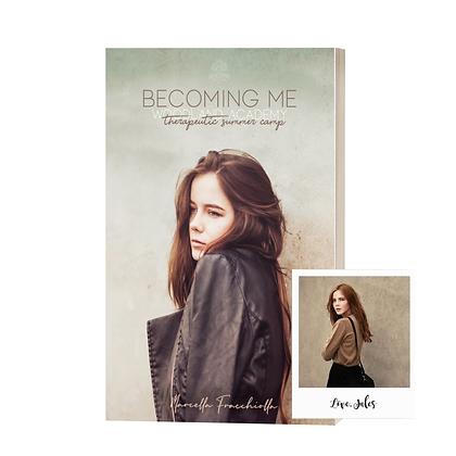 """Signierte Printausgabe """"Becoming Me"""" und Autogramm der Protagonistin"""
