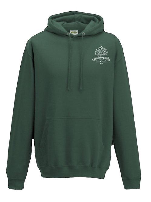 College Hoodie Moos Green