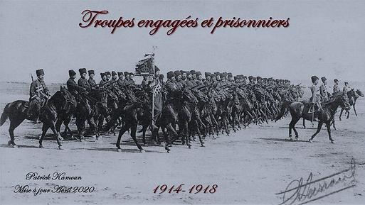 Guerre 1914 1918 Troupes et Prisonniers.