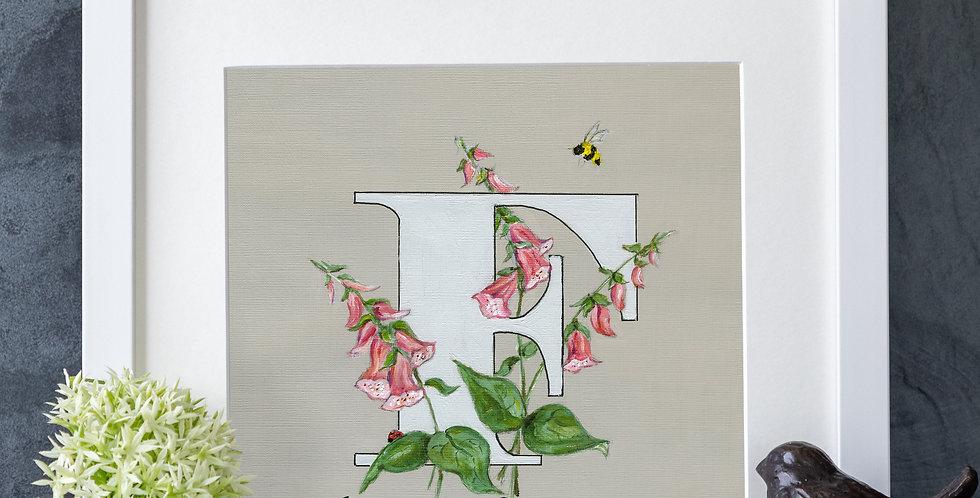 F (Foxglove, Pink)