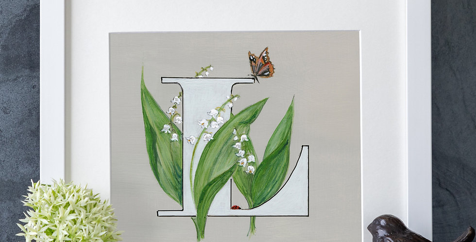 L (Lily of the Valley)