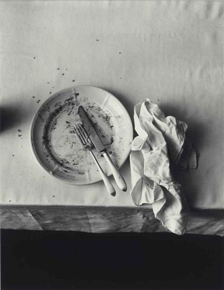 The empty plate - Irving Penn 1947