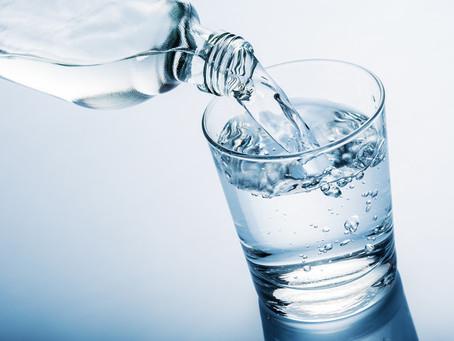 Et surtout, pensez à boire de l'eau!