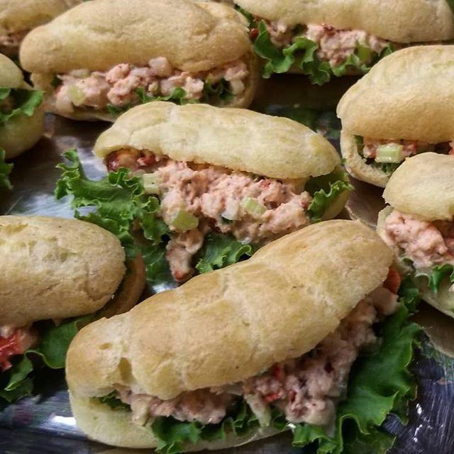 Mini Lobster Salad Sandwiches