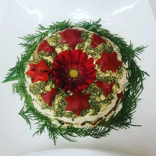 Red Pepper Pesto Flan