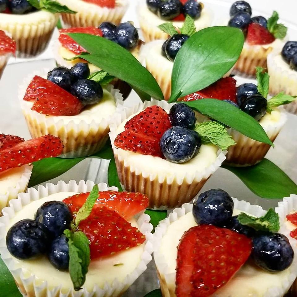 Mini Berry Cheesecake