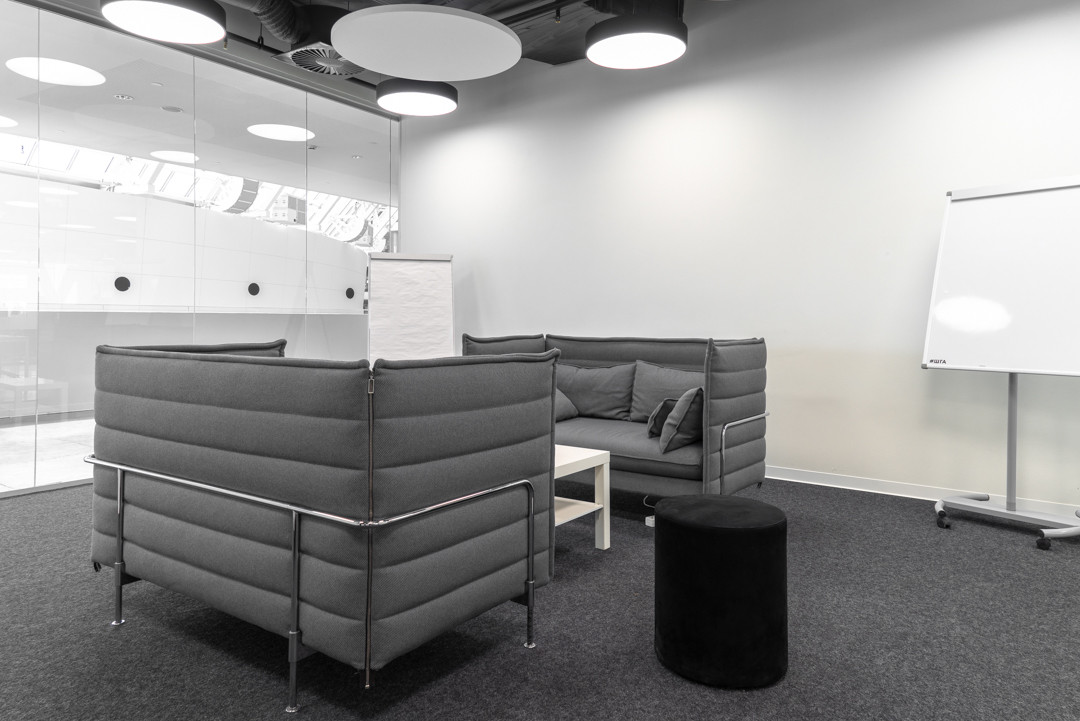 Переговорная комната в коворкинге Ельцин Центра