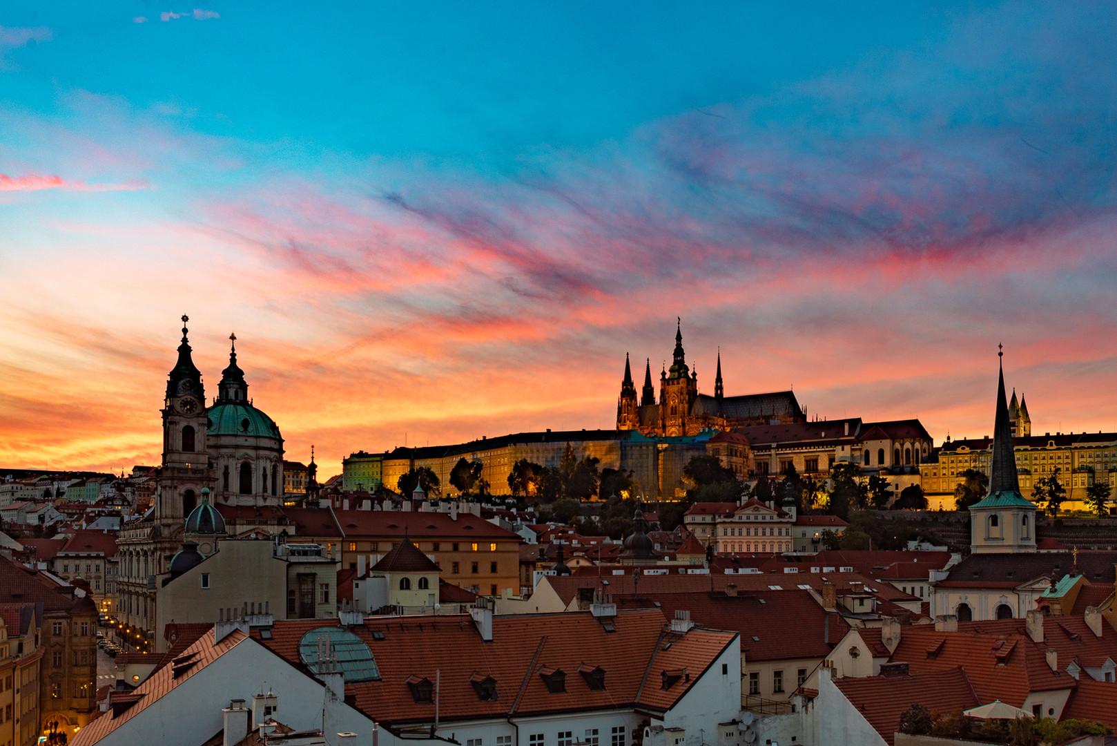 Praha Noční fotokurz - Hradčany
