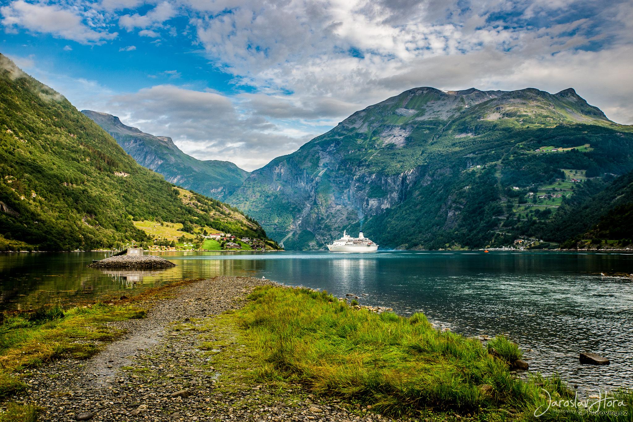 Fotoexpedice Norsko - Geiranger