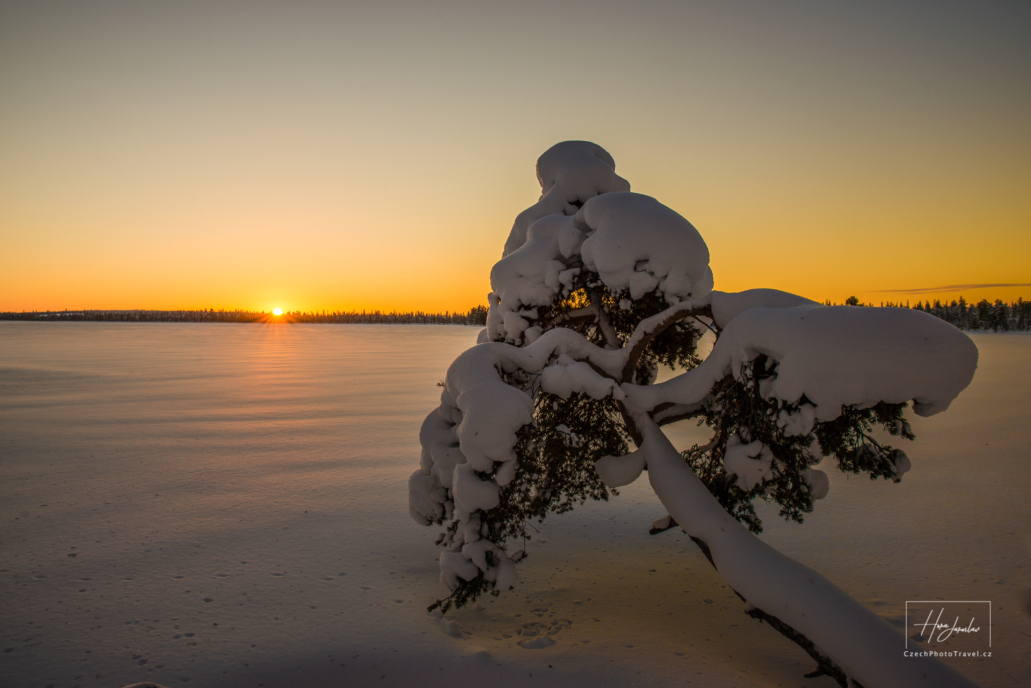 Západ Laponsko