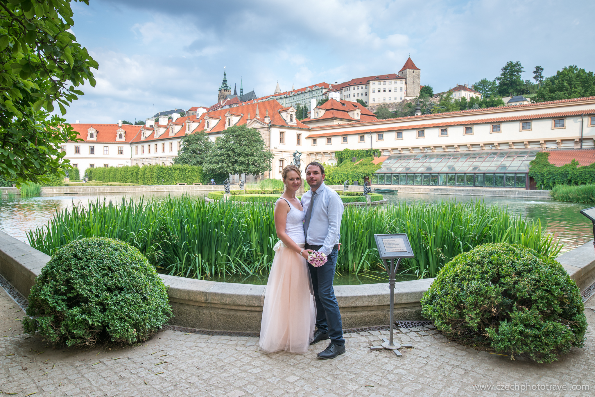 Wedding photos - Valdštejnská zahrad