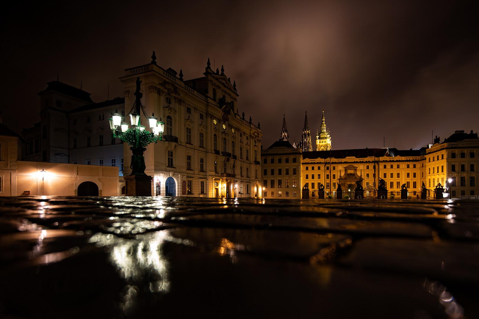Praha Noční fotokurz - Hradčanské