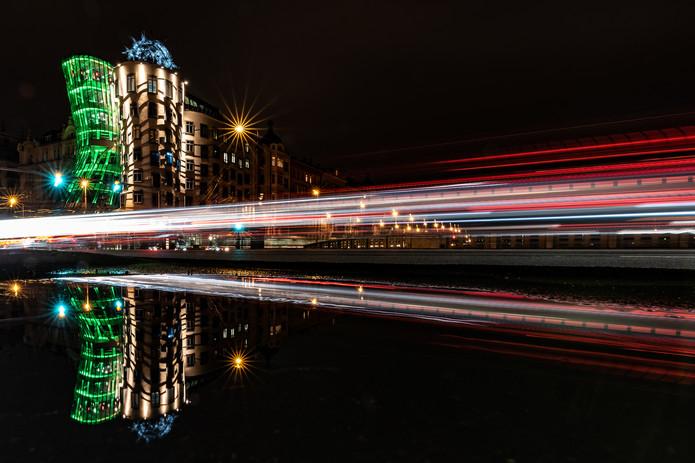 Praha Noční fotokurz - Tančící dům