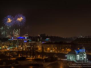 Jak jsem fotil novoroční ohňostroj 1.1.2016 v Praze