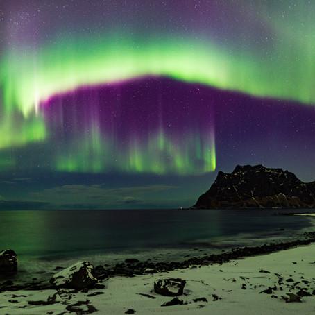 O fotografování polární záře