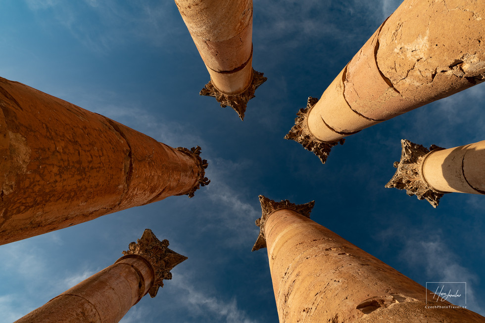 Fotoexpedice Jordánsko Jerash