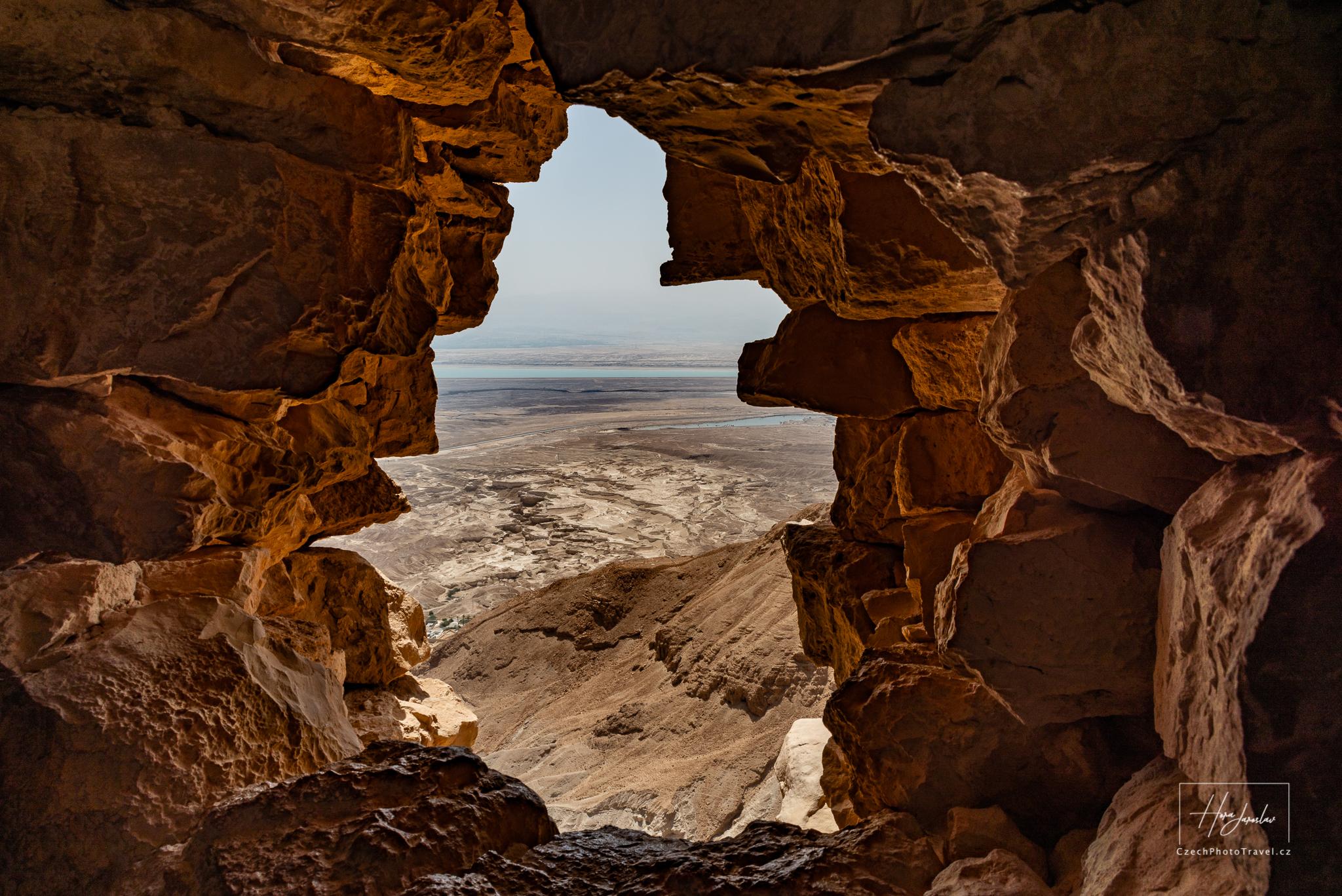 Pohled z Masady