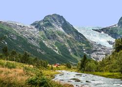 Fotoexpedice Norsko - ledovec