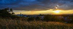 Mikulov by sunset