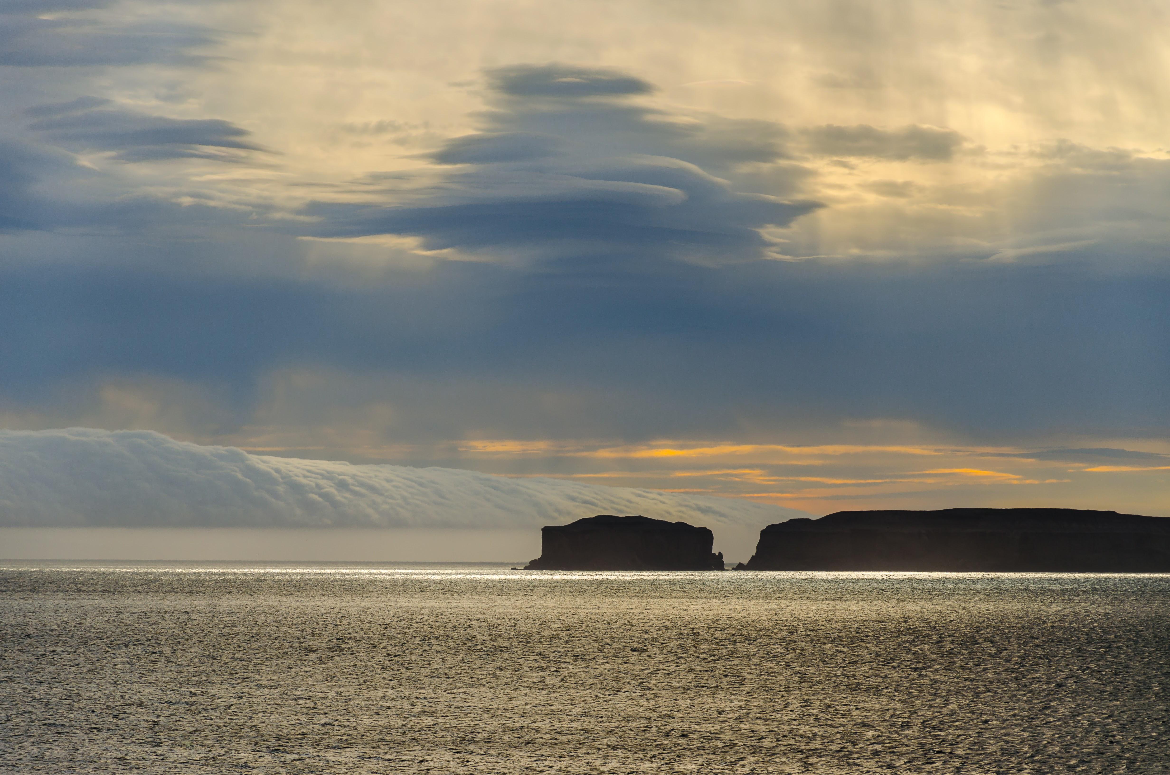 Pobřeží na severu Islandu