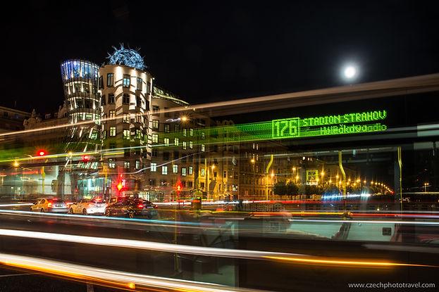 Fotografování noční Prahy
