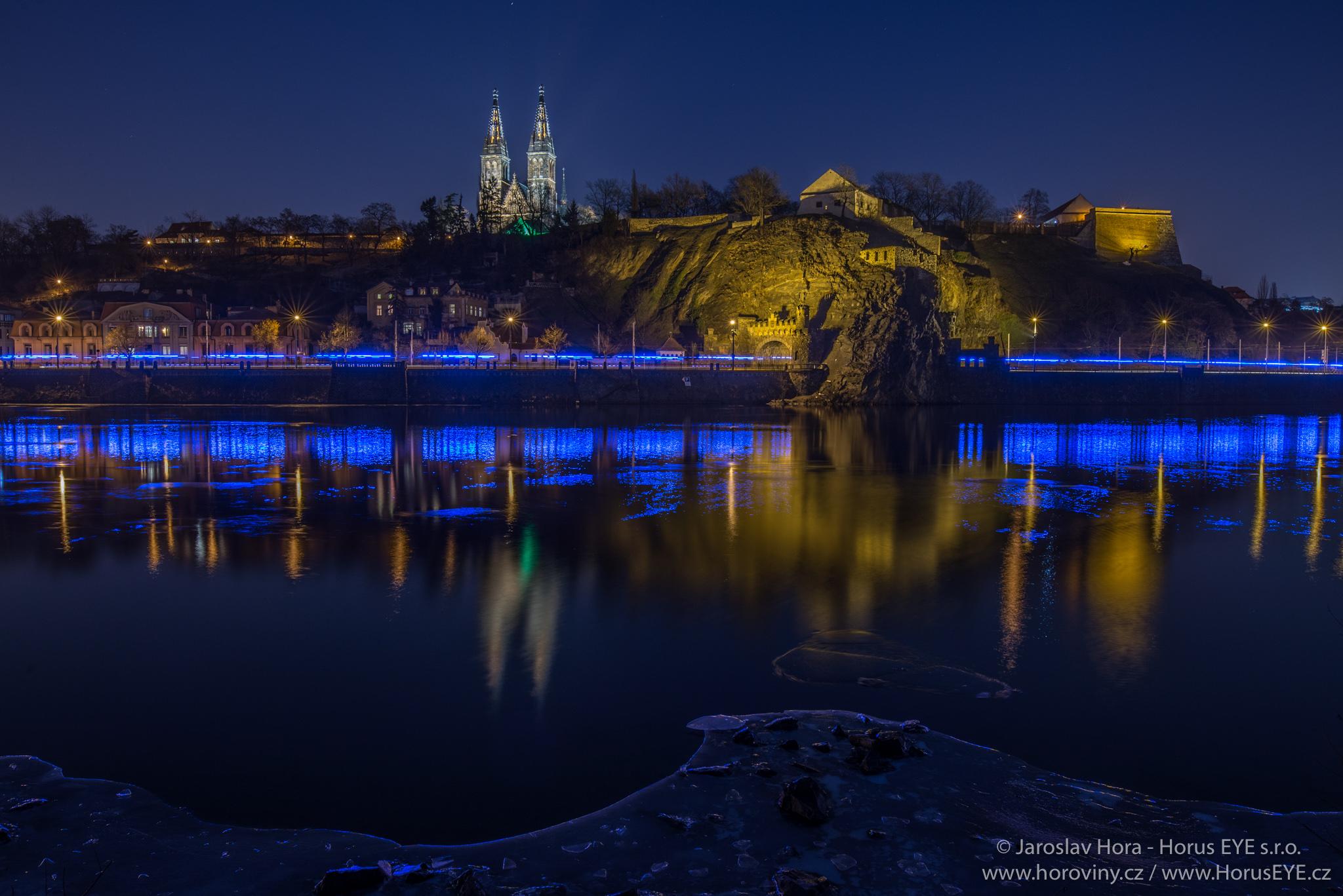 Praha noční - foto