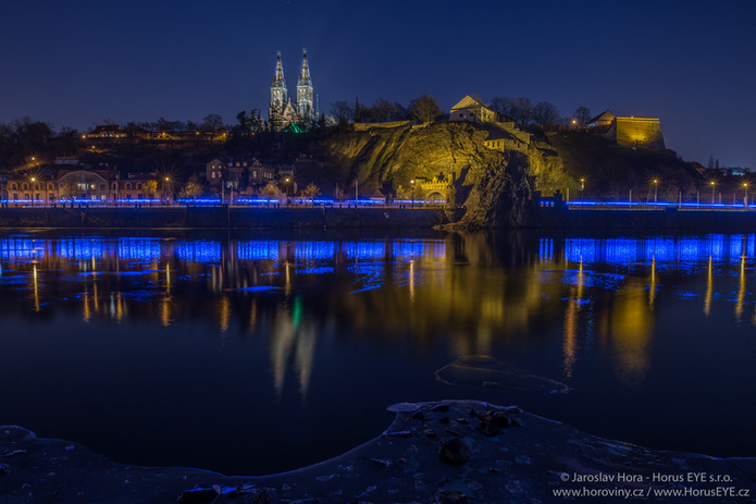 Praha Noční fotokurz - Vyšehrad