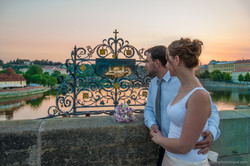 Wedding photos - Praha - Karlův most
