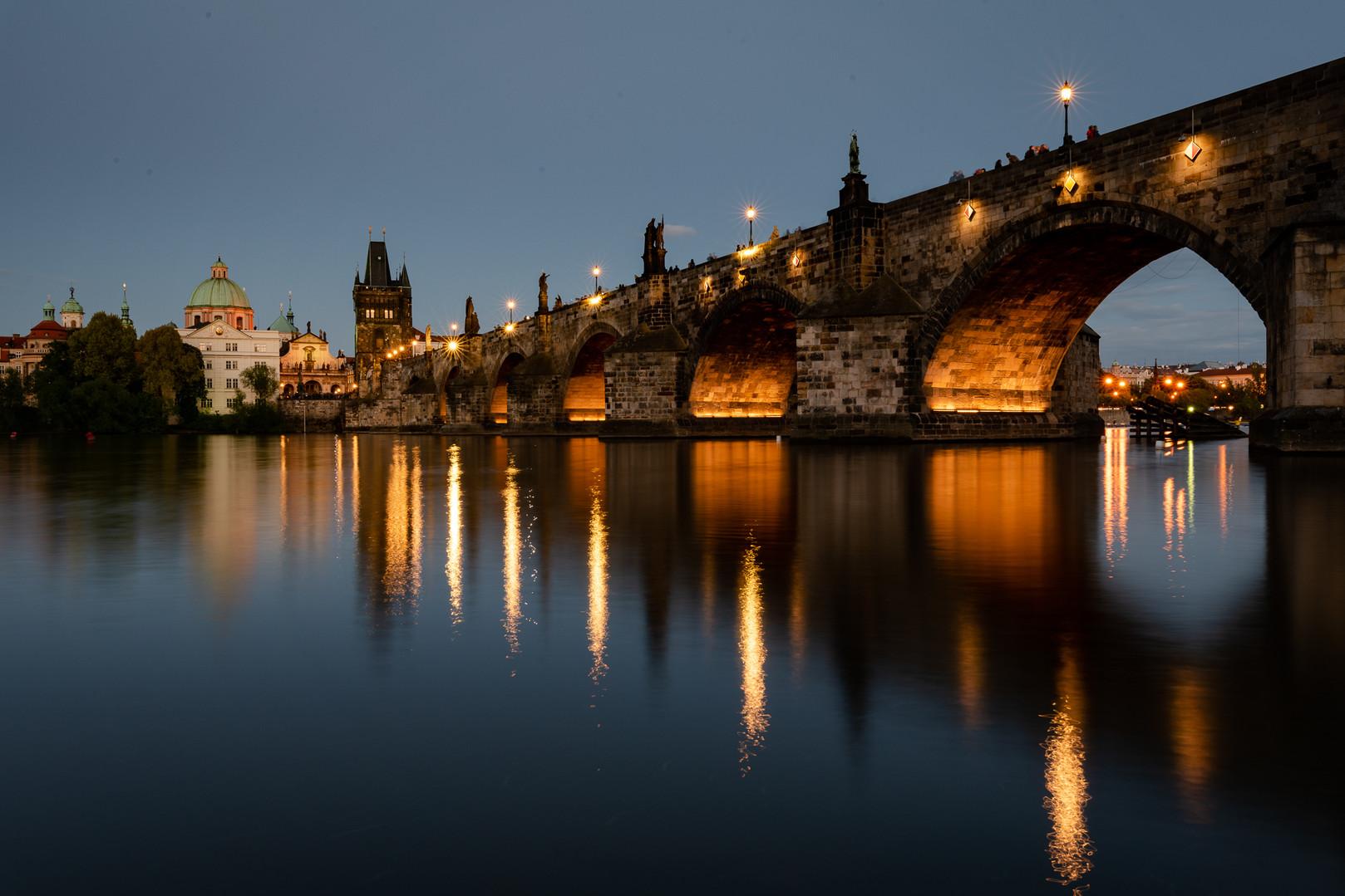 Praha Noční fotokurz - Kalův most