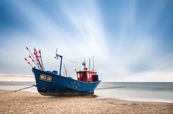 Rybářská loď Miedzyzdroje