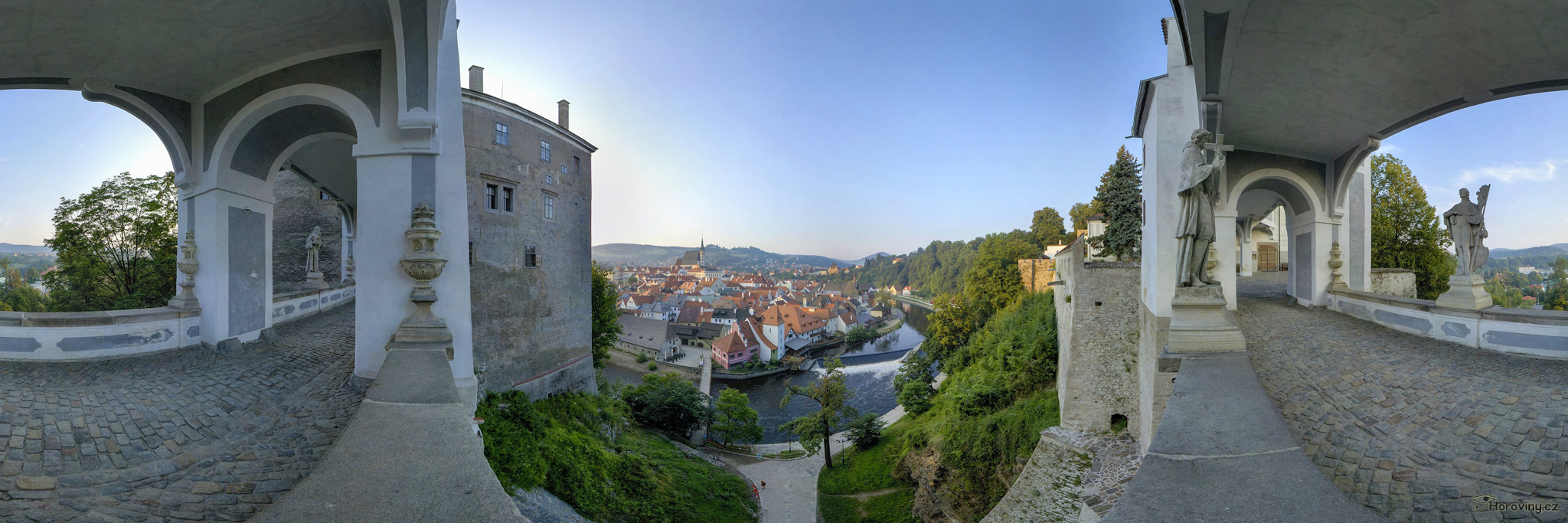 From the Plášť Bridge