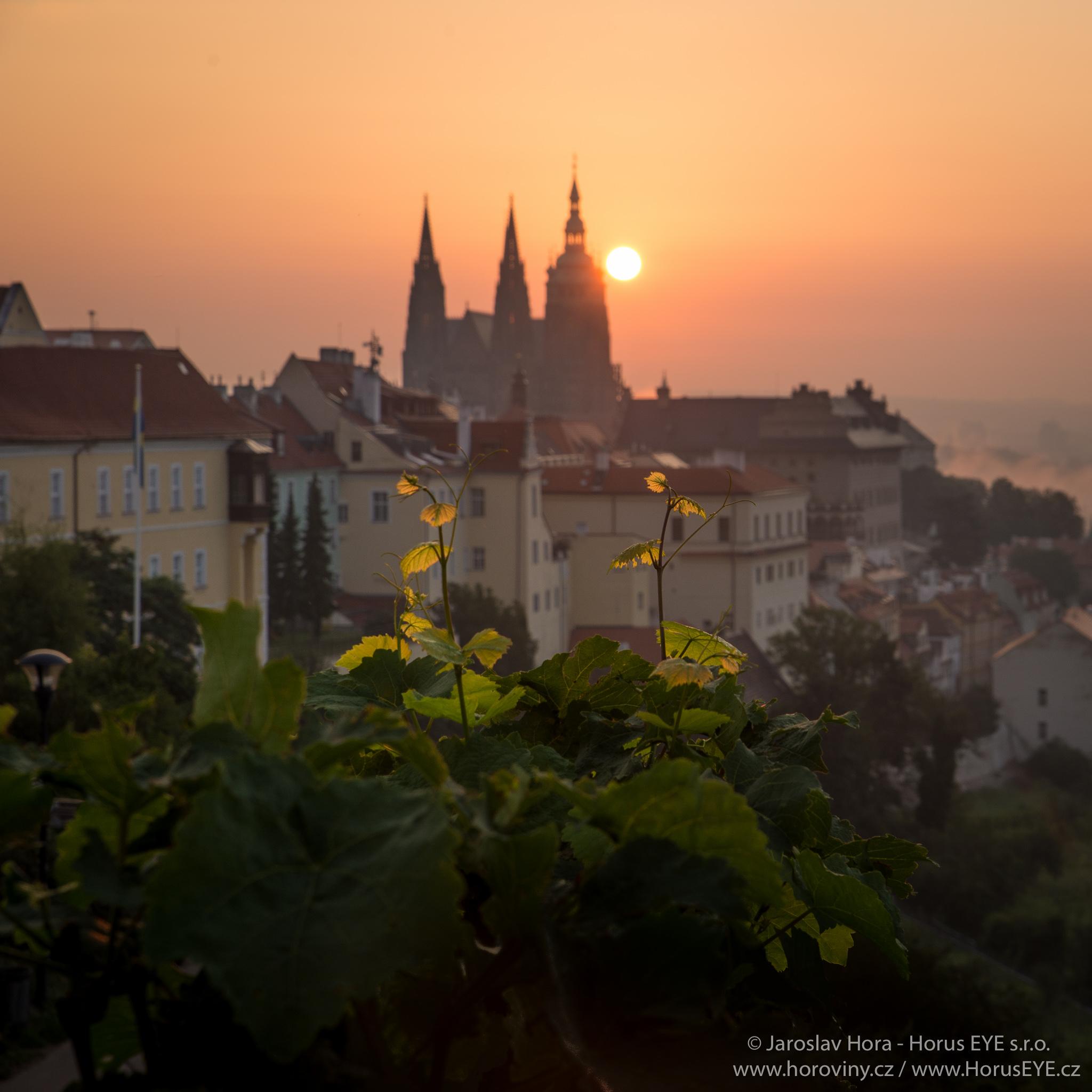 Fotografování svítání v Praze
