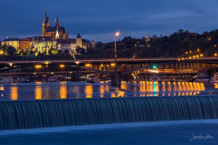 Praha Noční fotokurz - Jez