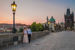 Wedding photos - Charles bridge