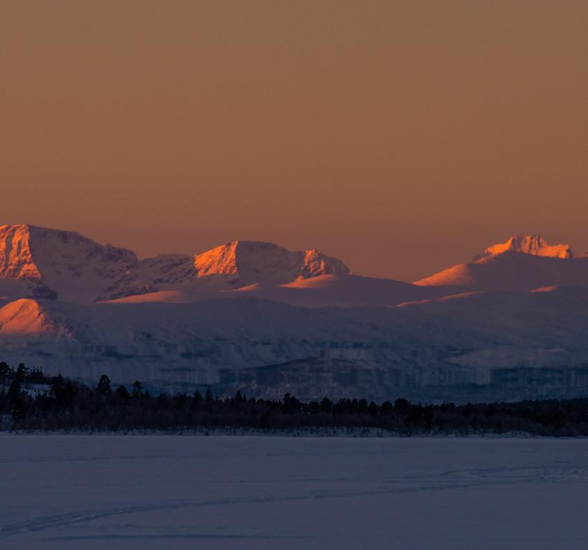 Nejvyšší hory Švédska