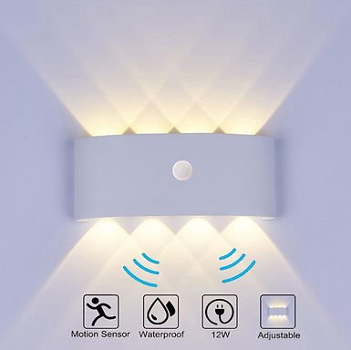 Nordic Wall Lamp Ip65 Led Aluminum Outdoor Up Down Wall Lights