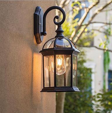 Vintage Wall Lamp E27 Bulb Sconce Light Fixtures Black Bronze Outdoor