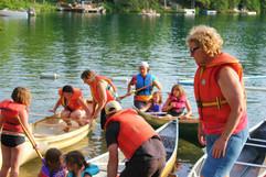 Canoeing, Girls Camp