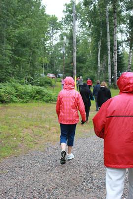 Hike around Fairy Lake, Girls Camp