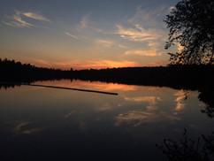 Sunsets on Fairy Lake