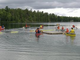 Canoeing,Boys Camp