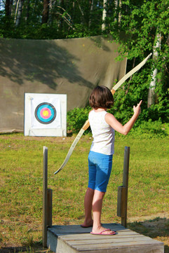Archery, Girls Camp