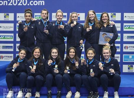 LIÉVIN 2020 - Les filles, le bronze et les honneurs
