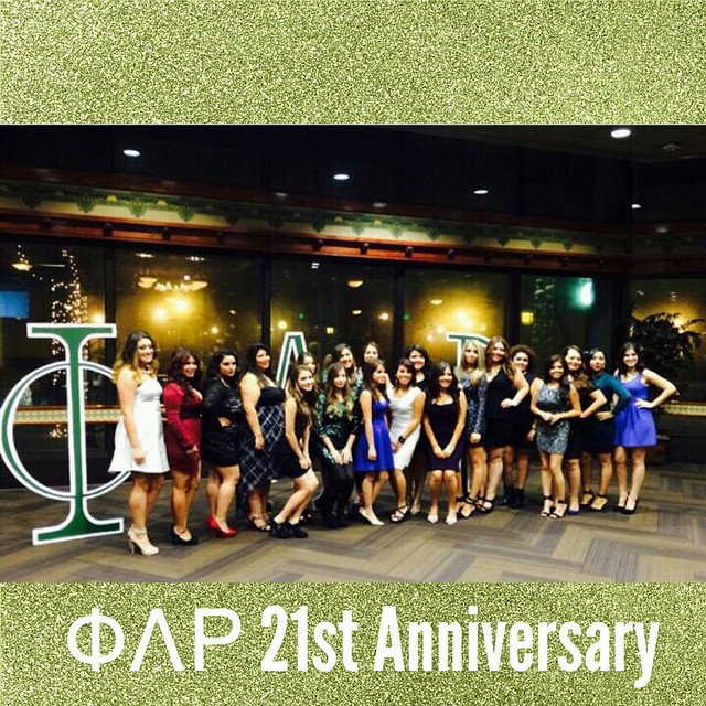 Founding chapter celebrating 21 amazing