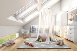 Reihenhaus Kinderzimmer